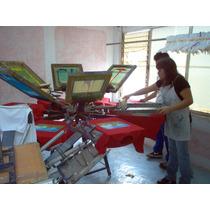 Taller Para Serigrafia: Pulpos,planchas,hornos Y Marcos Etc.