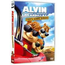 Alvin Y Las Ardillas Aventura Sobre Ruedas (dvd)