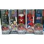 Iron Man, Spiderman, Falcon Y Capitan America (civil War)