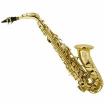 Saxofon Alto Mendini Lacado Musica Profesional Accesorios