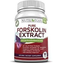 250mg Forskolina Fat Burner 90 Cápsulas - Estandarizado 20%