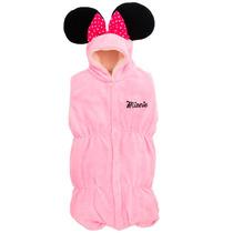 Costalito Porta Bebe Minnie Mouse Disney Microfibra Calido