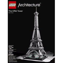 Torre Lego Architecture , Modelo 21019 , The Eiffel Tower