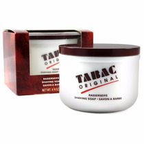 Jabon Tabac Mitchells Wool Fat Afeitar Rasurar Brocha Afeita