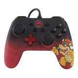Control Joystick Powera Wired Controller Switch Bowser