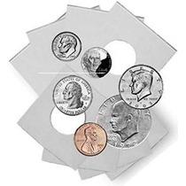 Coin Flip Surtido - Los Titulares De Cartón 2x2 - 25 Cada Un
