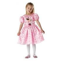 Minnie Mouse Disfraces - Girls Medio Rosa Disney Fantasía