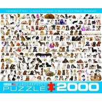 Jigsaw Rompecabezas - El Mundo De Los Perros 2000 Pedazo Eur