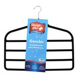 Gancho Para Pantalon 4 Niveles Ahorra Espacio Antideslizante