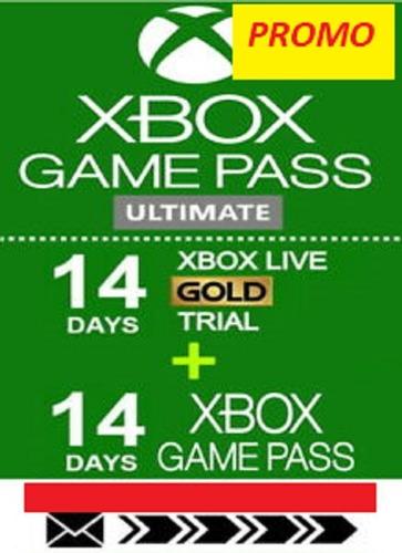 14 Dias Xbox Game Pass Ultimate(codigo)