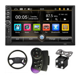Auto Estereo Pantalla 7 Bluetooth 2 Din Mirrorlink + Regalos