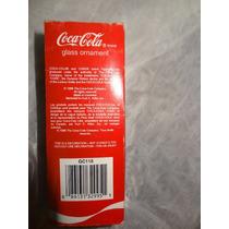 Coca Cola Ornamento Adorno Navideño Vidrio