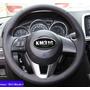 Funda Piel Volante A Medida Mazda Cx5, 2,3,6,etc. Hilo Negro