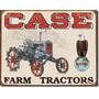 Case Farm Tractor Vintage Retro Cartel Retro Lamina Poster