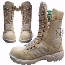 Bota Militar Khaki Tipo Swat Tactica Ligera