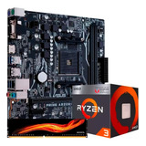 Kit Actualizacion Amd Ryzen 3 2200g Ram 8gb Gamer Vega 8