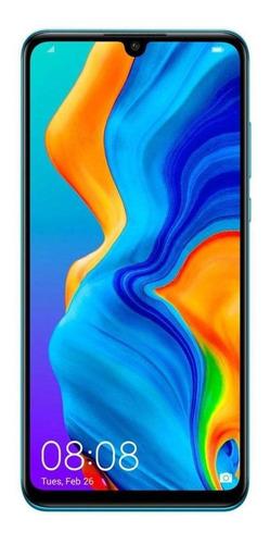 Huawei P30 Lite Dual Sim 128 Gb Peacock Blue 4 Gb Ram