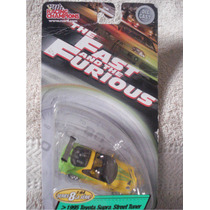 Rapido Y Furioso / Set 2 Carritos Eclipse Y Supra Esc 1:64