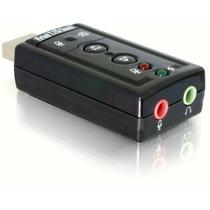 Tarjeta De Sonido Usb 7.1 Canales Audio 3d Pc Y Mac