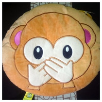 Peluche Cojín Emoji Whatsapp Changuito No Hablar! Original