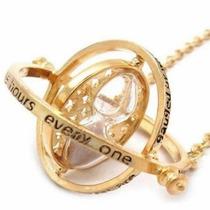 Harry Potter Collar Giratiempo Hermione Dorado Reloj Arena