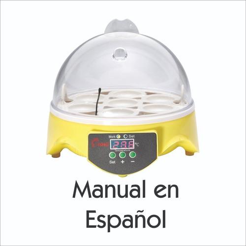 Incubadora De Huevos Automática, Capacidad Para 7 Huevos