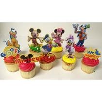 Mickey Mouse Clubhouse 9 Pieza Aglomerado De Cumpleaños De L