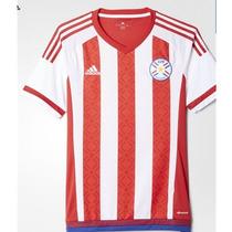 Jersey Adidas Paraguay Copa America 2016 Original Con Num