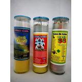 Veladora De Vaso 100 Preparado Con Aroma X Caja C/20