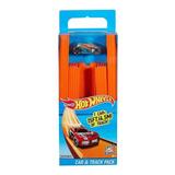 Hot Wheels Car & Track Pack - 15 Ft De Pista Recta Bht77