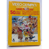 Video Olympics Game Program Atari 2600 En Caja Retromex Tcvg