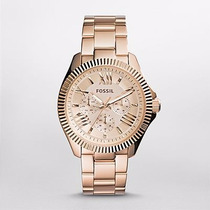 Reloj Fossil Cecile Multifunction Rose-tone Am4569 Watchito
