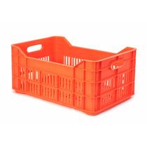 Caja De Plastico Agricola Mediana Calada 53 X 34 X 23