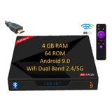 Android Tv Box Smart Tv Premium Gama Alta Maxima Potencia