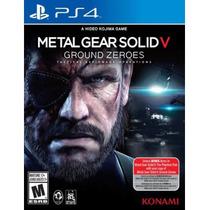 Metal Gear Solid V Ground Zeroes Ps4 Sellado