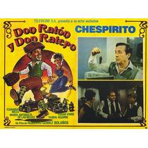 Dvd Chespirito El Chavo Chapùlin En Don Raton Y Don Ratero