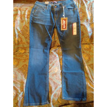 Jeans Levis Straight 570 Para Dama En Talla 9 Original