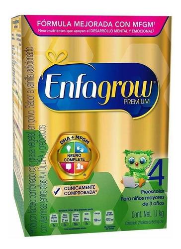 Fórmula Para Lactantes En Polvo Mead Johnson Enfagrow Premium 4 Sabor Vainilla En Caja De 1.1kg