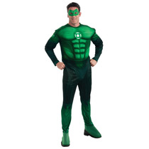 Linterna Verde Traje - Medio Deluxe Hal Jordan Muscular