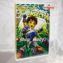 Nickelodeon Go Diego Go Es Un Mundo De Insectos Dvd Reg. 1,4