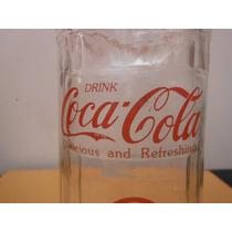 Vaso Coca Cola Retro Vintage Coke Restaurante Bedida Drink