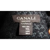 Bufanda Canali Seminueva Lana Made In Italy Como Brioni