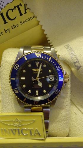 cc96a20ff610 Remato Ultimas Piezas Reloj Invicta 8927ob Pro Diver Oro 23k en ...