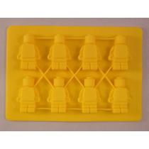 Molde Silicon Figura Hombrecillos Lego Pequeños Amyglo