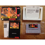 Final Fight Completo Para Super Nintendo De Coleccion Op4