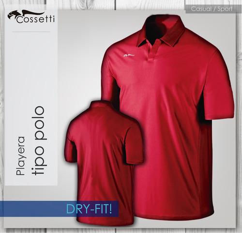 Playera Tipo Polo Dry-fit! De Alta Calidad Nueva Confección!  230 ... 0778d368de752