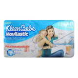 Pañal Para Bebé Kleenbebe Movilasic Xtrajumbo E6 40 Pza