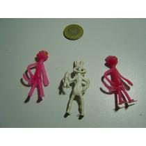 Juguete Antiguo Figuritas De Mercado De La Pantera Rosa Y Bu