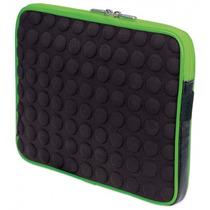Funda Para Tablet Manhattan Reversible-negro Con Verde