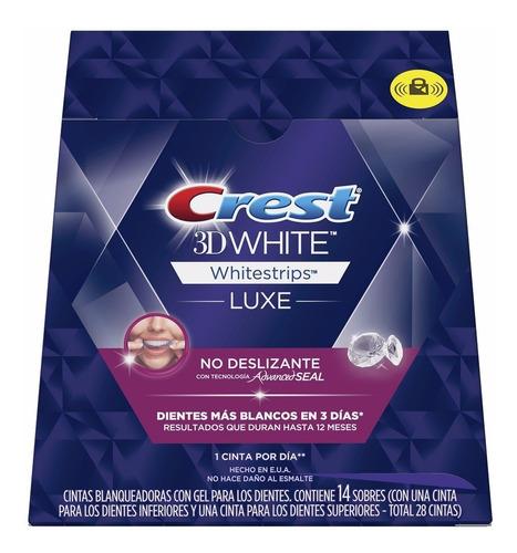 Crest 3d Whitestrips White Luxe  - Cintas Blanqueadoras